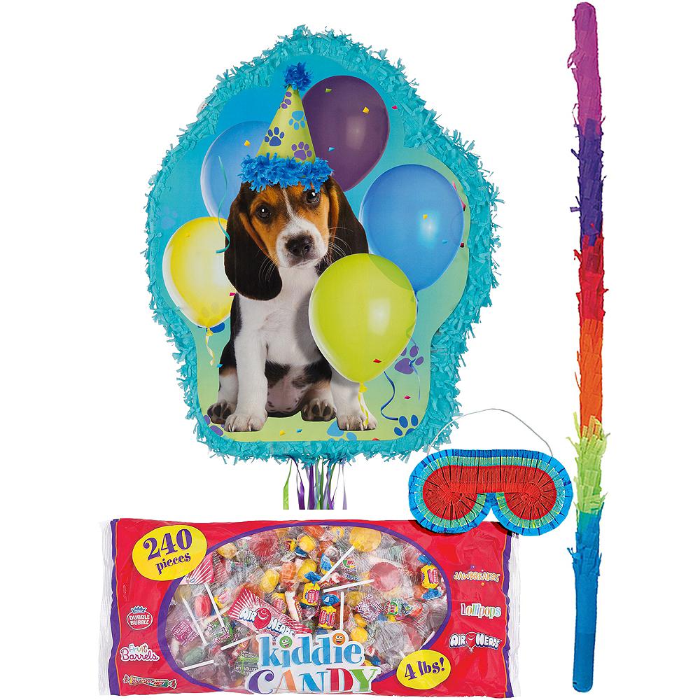 Pull String Party Pups Pinata Kit Image #1