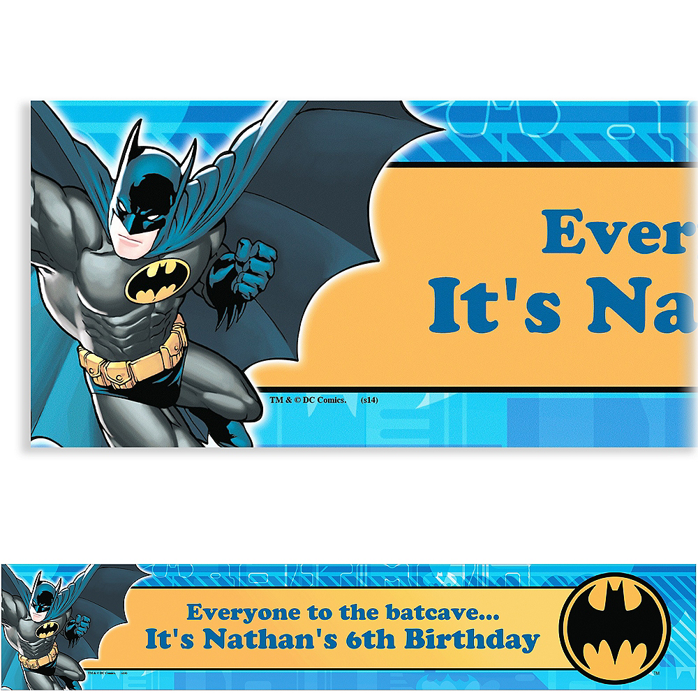 Custom Batman Banner 6ft Image #1