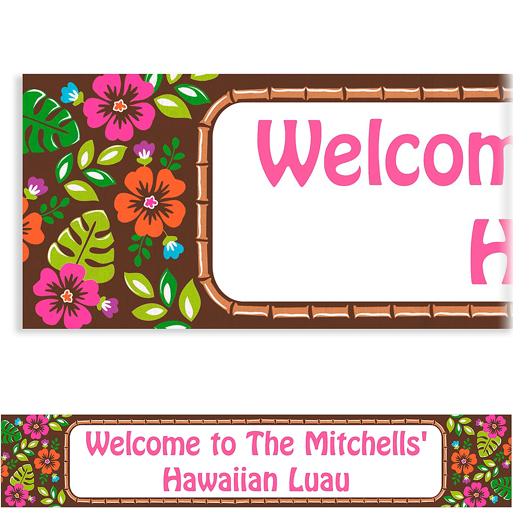 Nav Item for Custom Summer Luau Banner 6ft Image #1