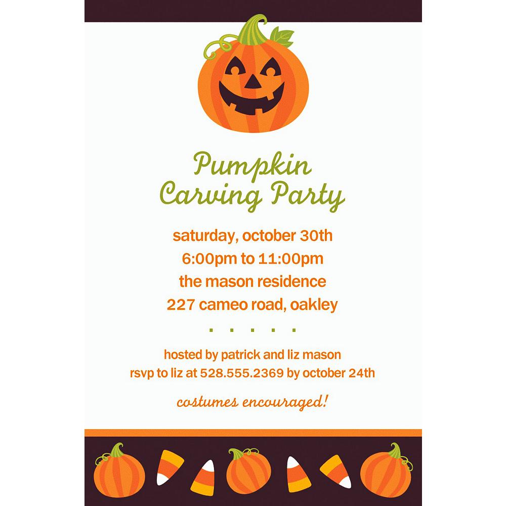 Custom Halloween Friends Halloween Invitations Image #1