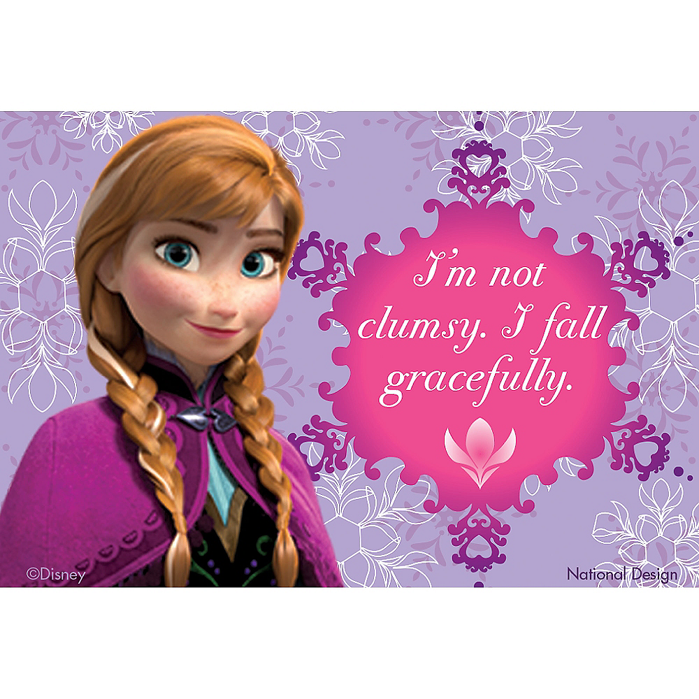 I Fall Gracefully Anna Magnet - Frozen Image #1
