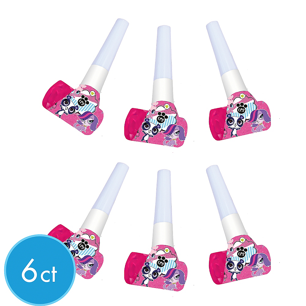 Littlest Pet Shop Blowouts 6ct | Party City