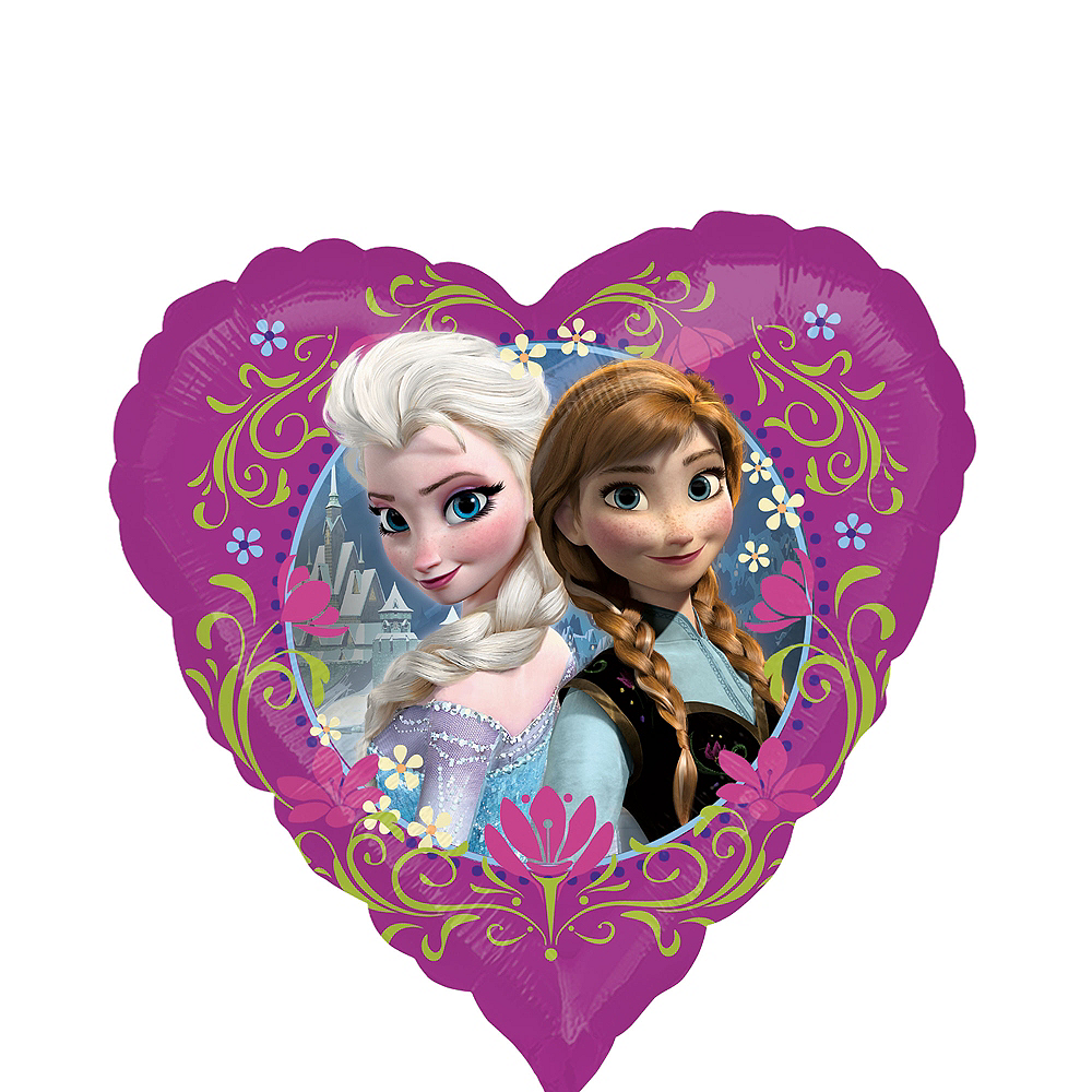 Nav Item for Frozen Balloon - Heart, 18in Image #1