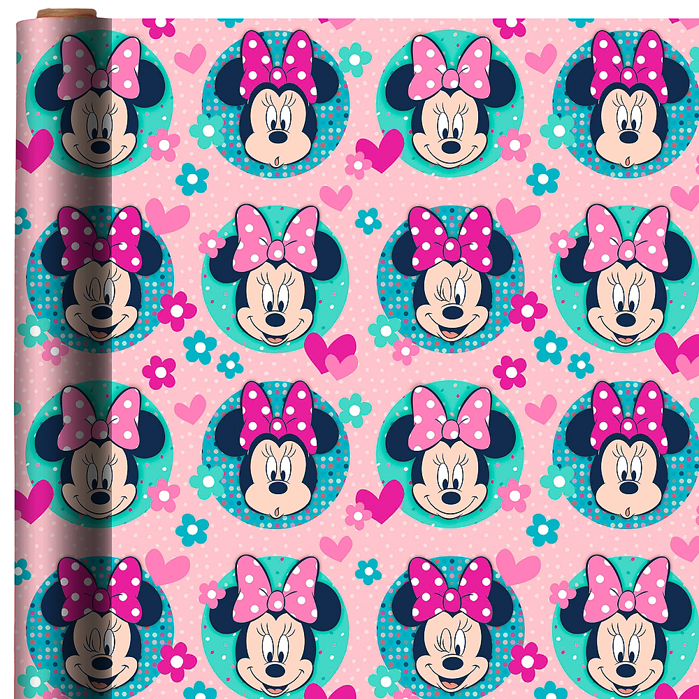 Minnie Mouse Gift Wrap Image #1