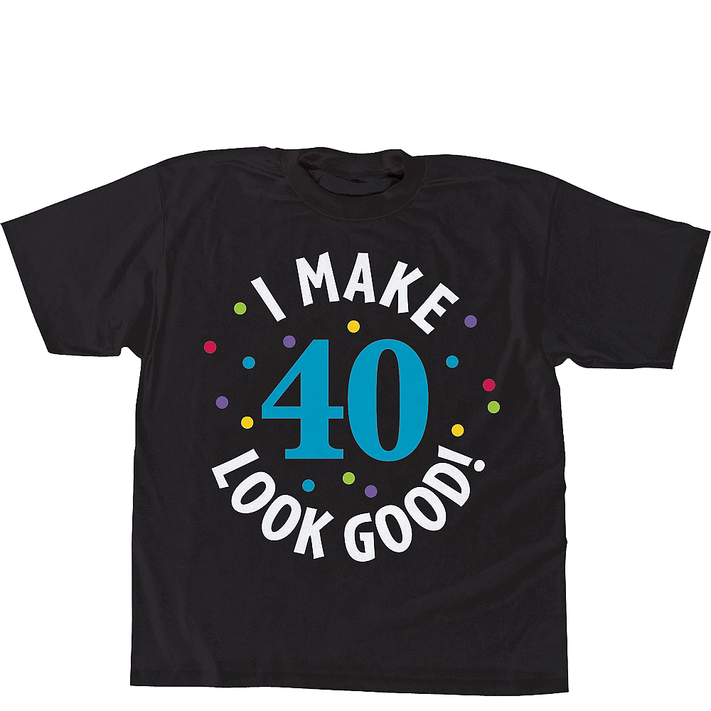 40th Birthday T Shirt Image 1