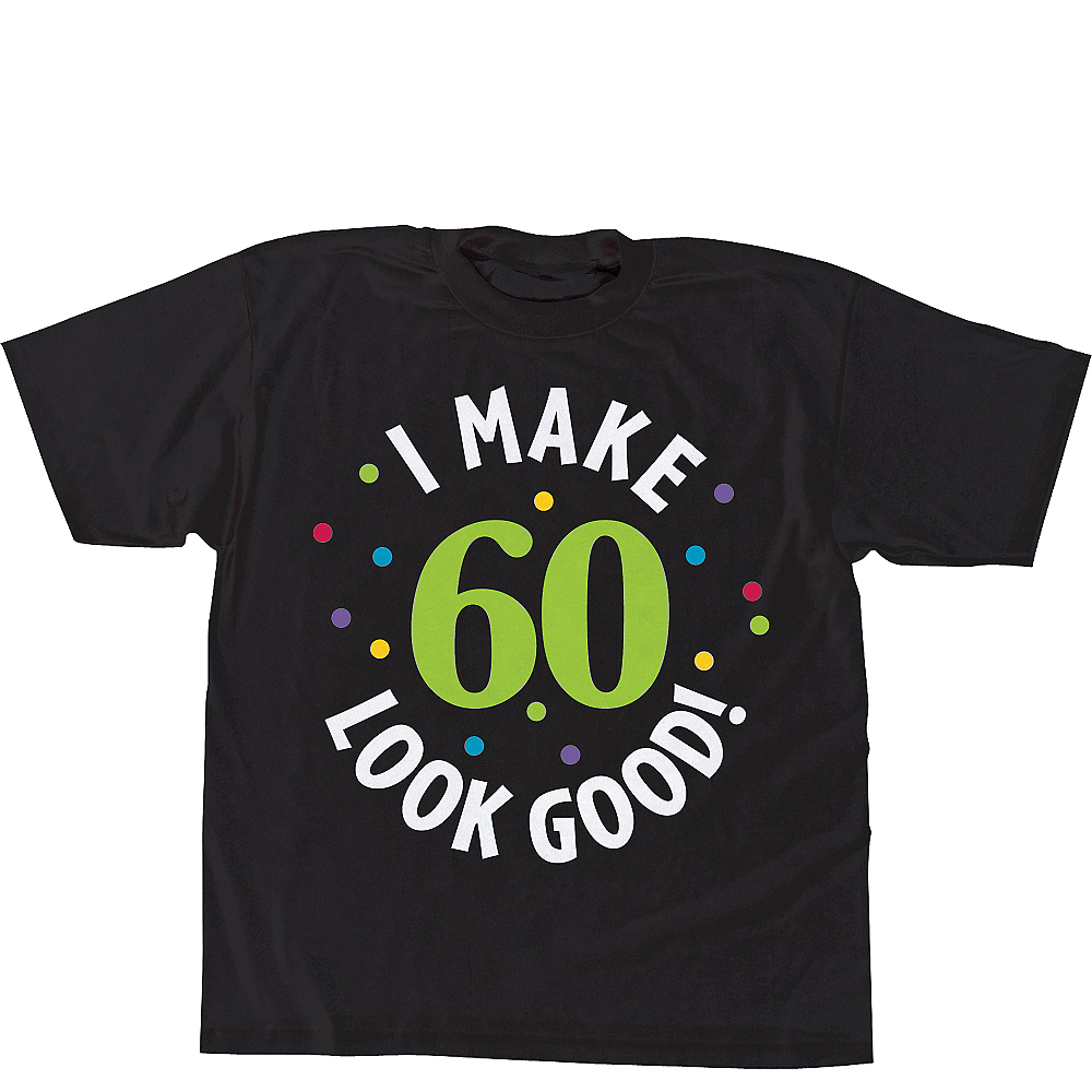 60th Birthday T Shirt Image 1