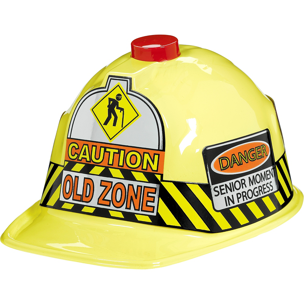 Nav Item for Old Zone Flashing Construction Hat Image #1