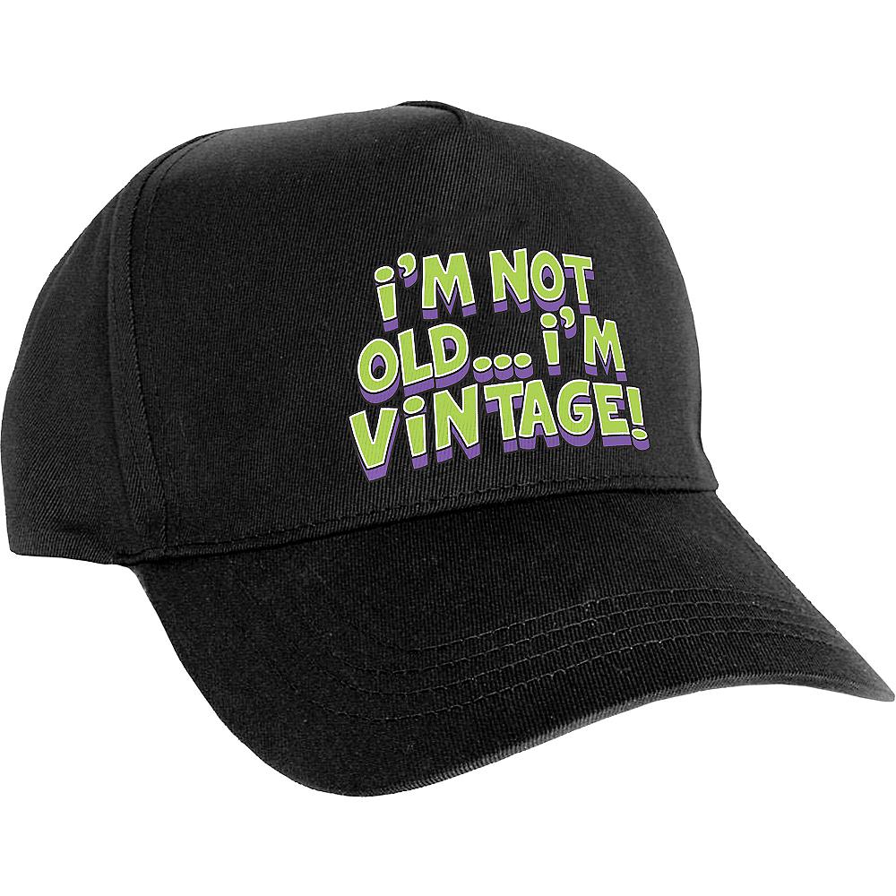 I m Not Old I m Vintage Baseball Hat 7 1 2in x 5in  fbf0182157c