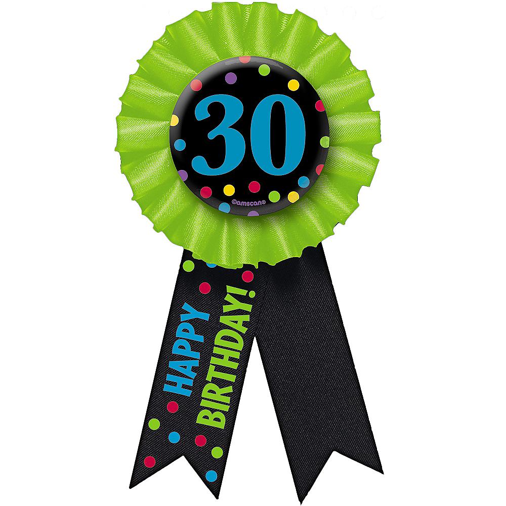 30th Birthday Award Ribbon Image #2