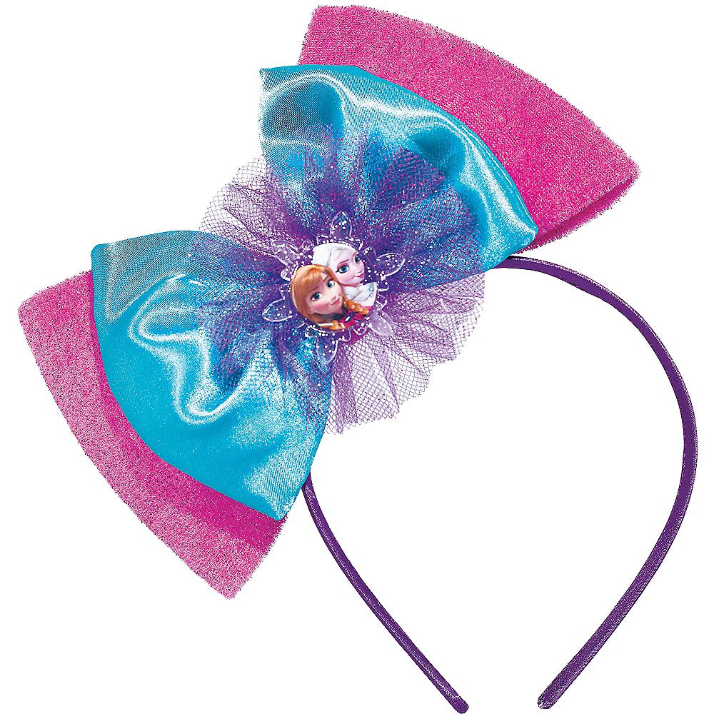 Frozen Bow Headband Deluxe Image #1