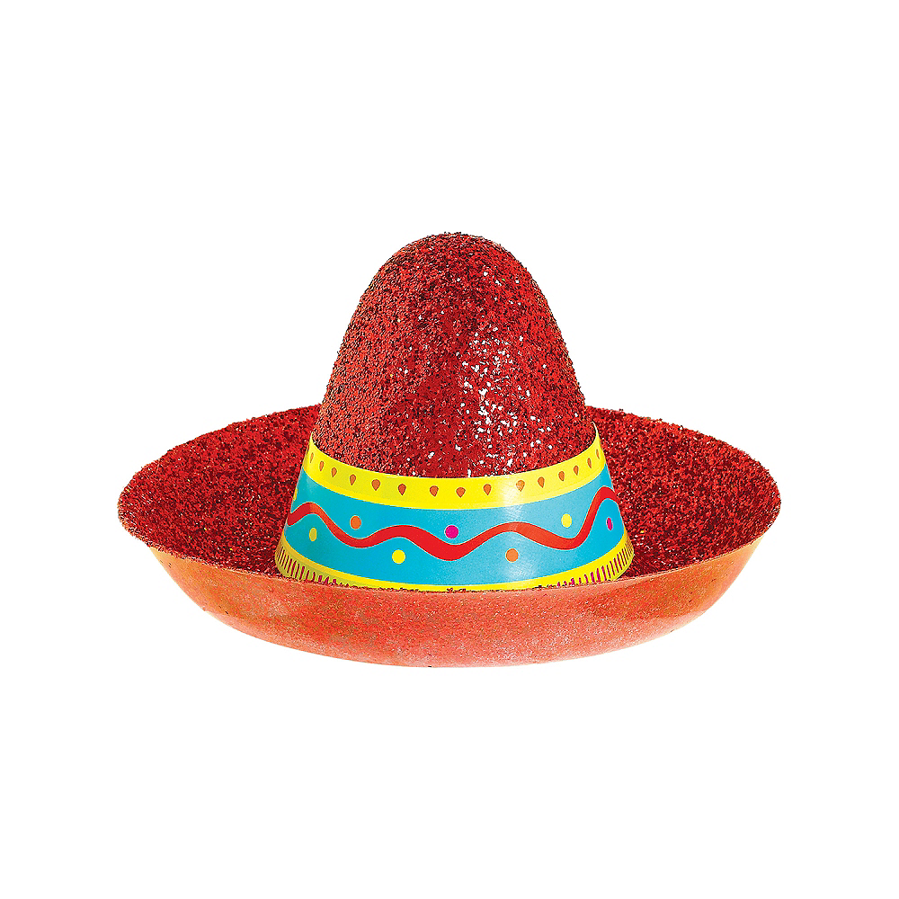 Glitter Mini Sombrero Image #1