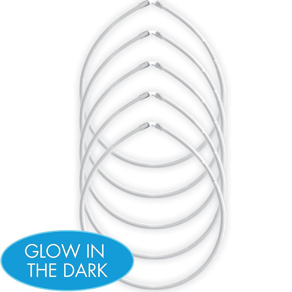 White Glow Sticks 5ct Image #1