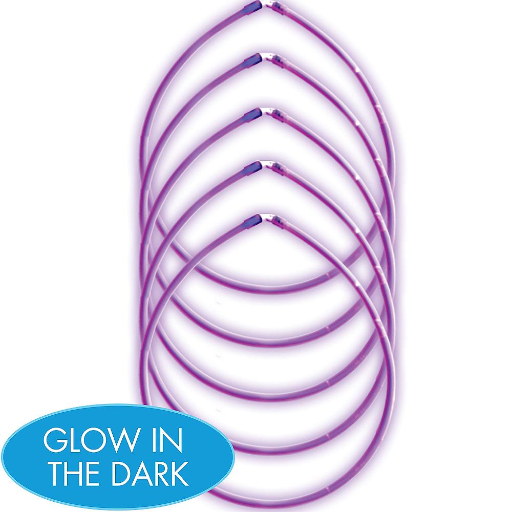 Purple Glow Sticks 5ct Image #1