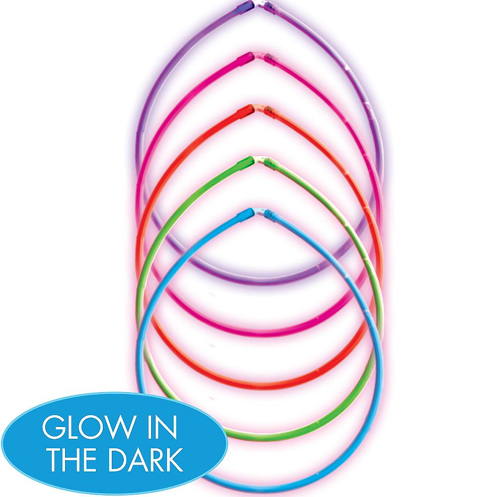 Rainbow Glow Sticks 5ct Image #1