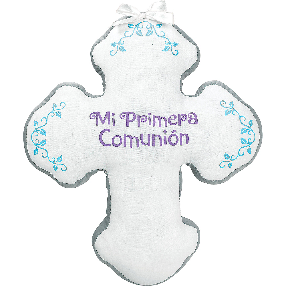 Nav Item for Mi Primera Comunion Autograph Pillow Image #1