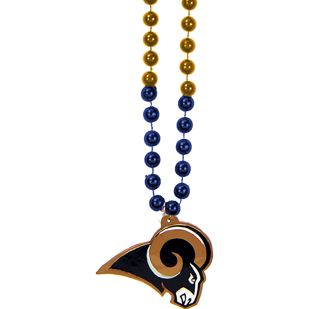 Los Angeles Rams Pendant Bead Necklace Image #1