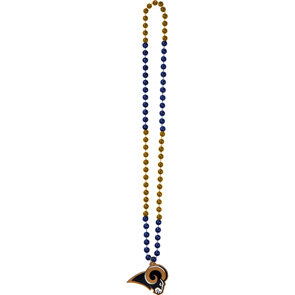 Los Angeles Rams Pendant Bead Necklace Image #2