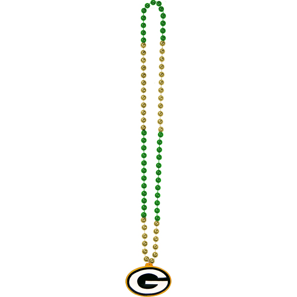 Green Bay Packers Pendant Bead Necklace Image #2