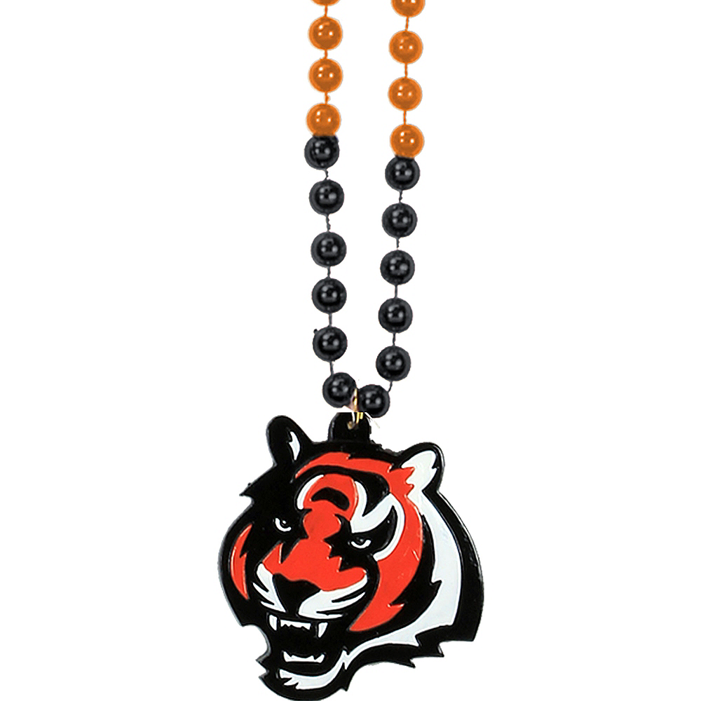 Cincinnati Bengals Pendant Bead Necklace Image #1