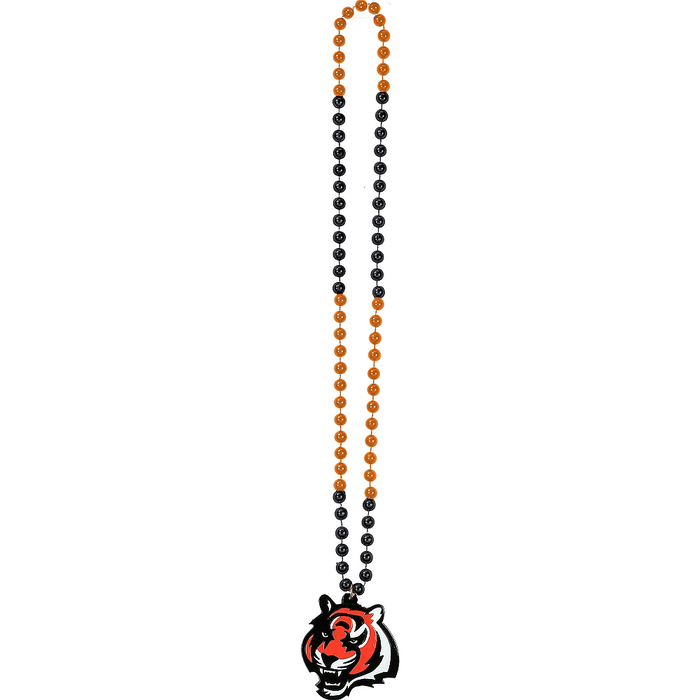 Cincinnati Bengals Pendant Bead Necklace Image #2