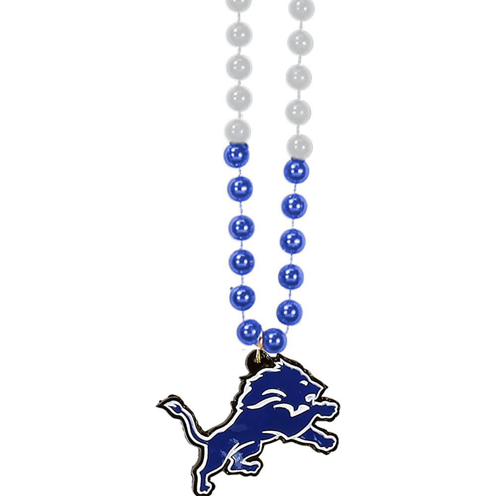 Detroit Lions Pendant Bead Necklace Image #1