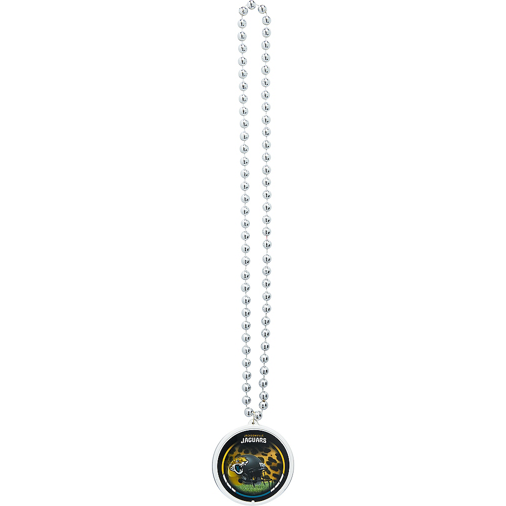 Nav Item for Jacksonville Jaguars Pendant Bead Necklace Image #2