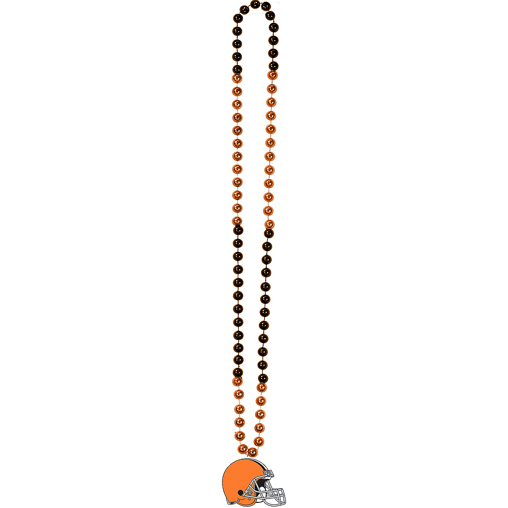 Cleveland Browns Pendant Bead Necklace Image #2