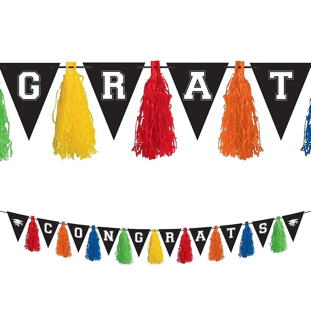 Multicolor Graduation Tassel Garland Image #1