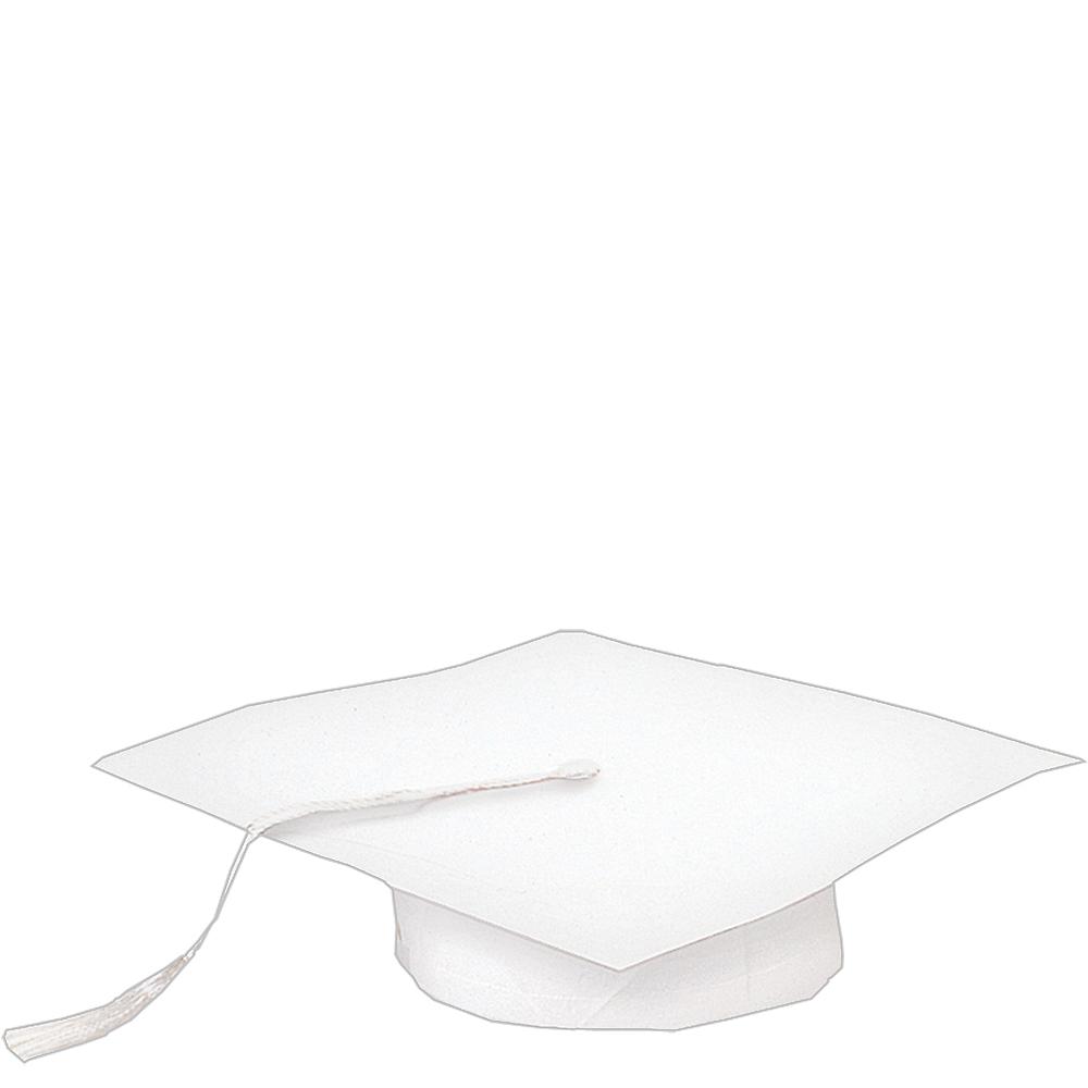 White Paper Graduation Cap Image #1