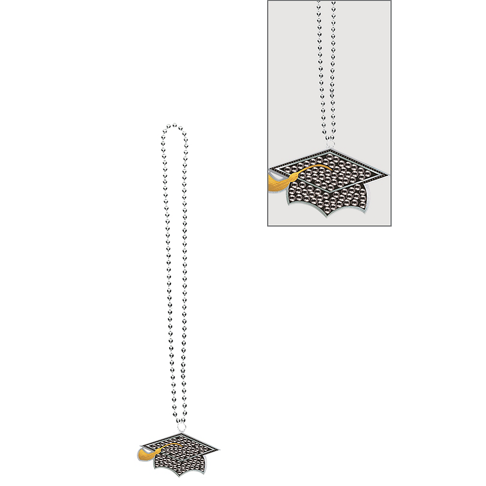 Graduation Cap Pendant Necklace Image #1