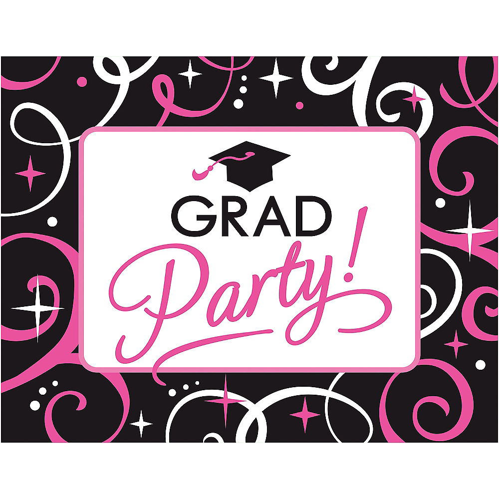 Sparkling graduation invitations for 50 party city sparkling graduation invitations for 50 image 1 filmwisefo