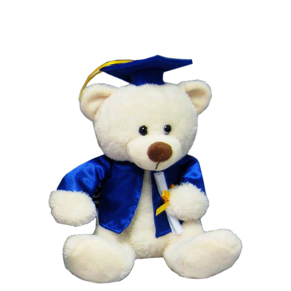Blue & Cream Graduation Teddy Bear Image #1