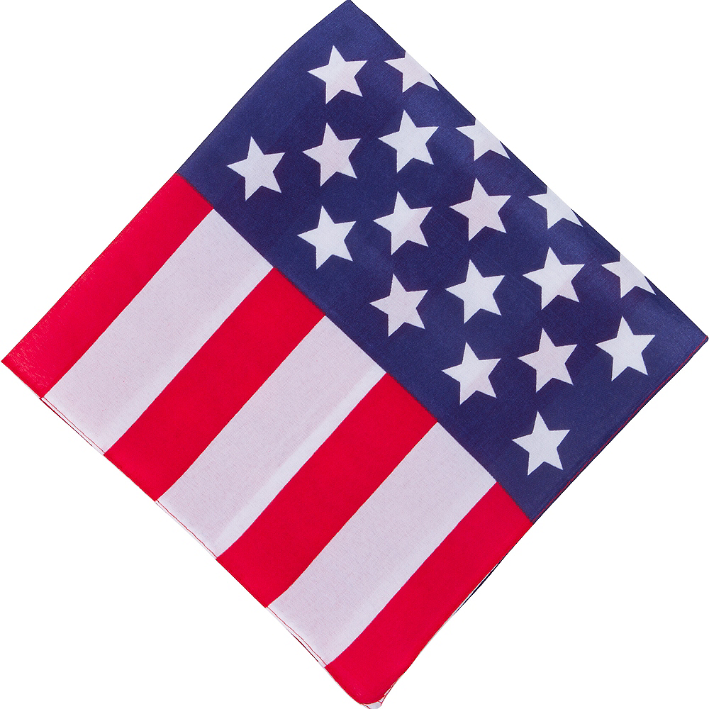 Nav Item for American Flag Bandana Image #1