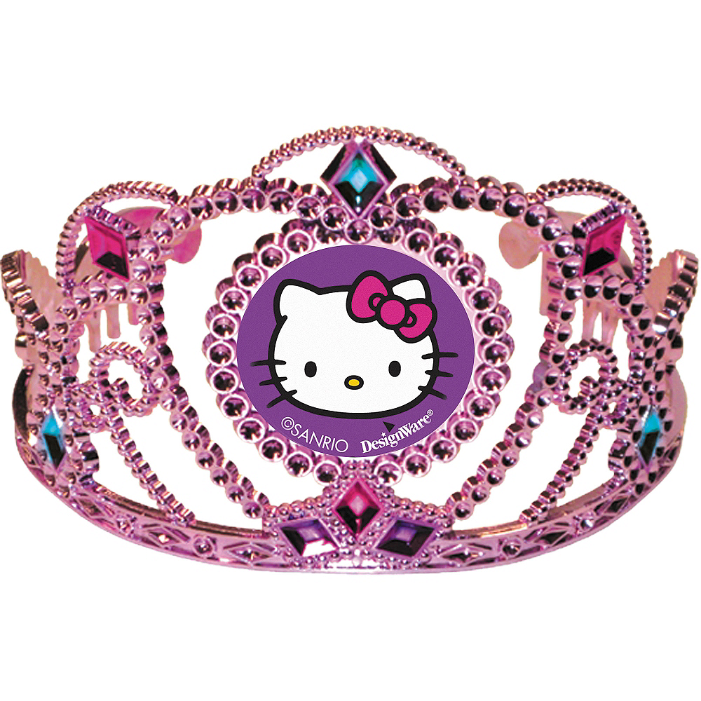 Rainbow Hello Kitty Tiara Image #1