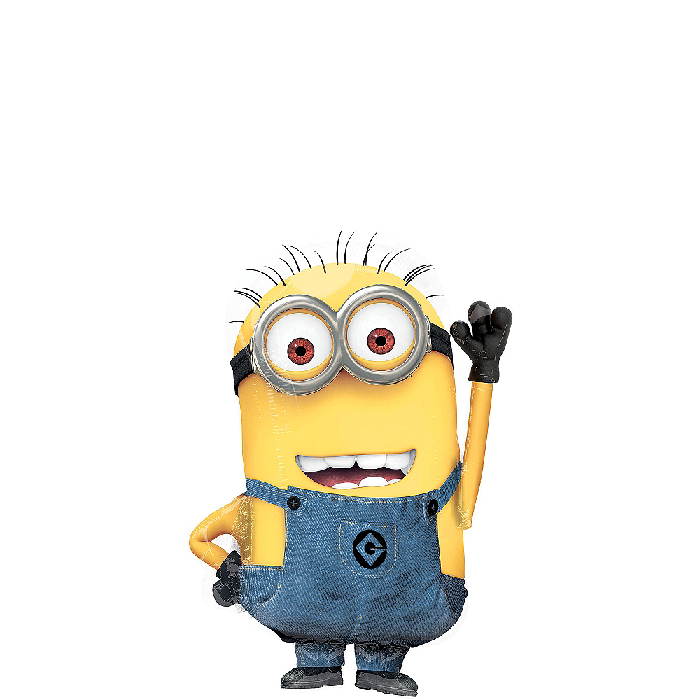 Nav Item for Despicable Me Minion Balloon, 25in Image #1