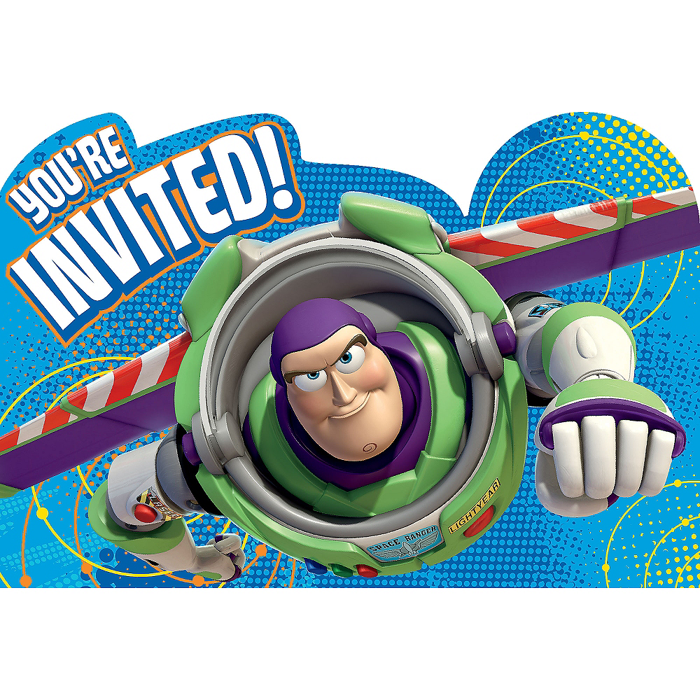 toy story invitations 8ct party city