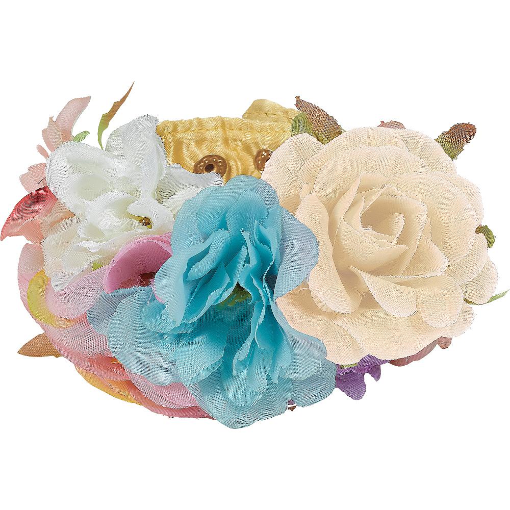 Pastel Floral Wrist Cuffs 2ct Image #1