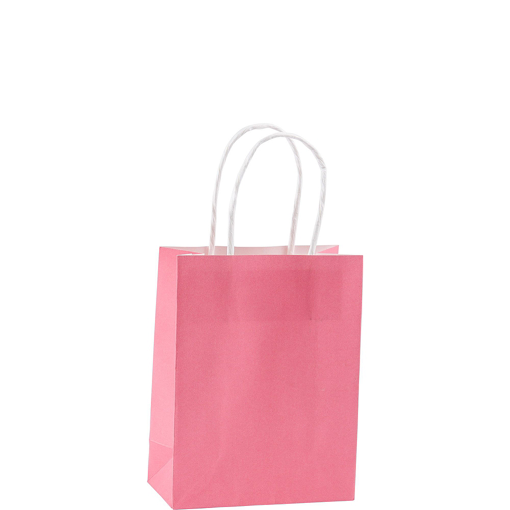Small Pink Kraft Bags 24ct Image #2