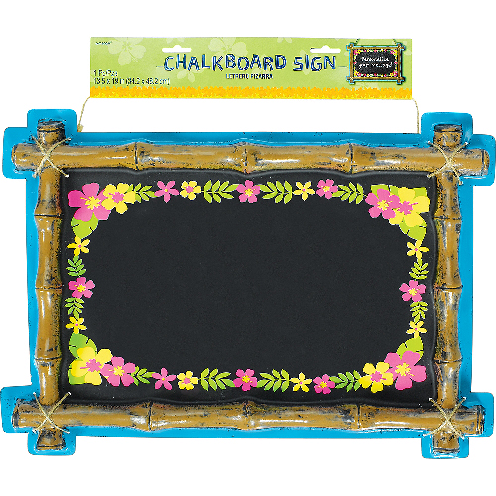 Nav Item for Tiki Chalkboard Sign Image #2
