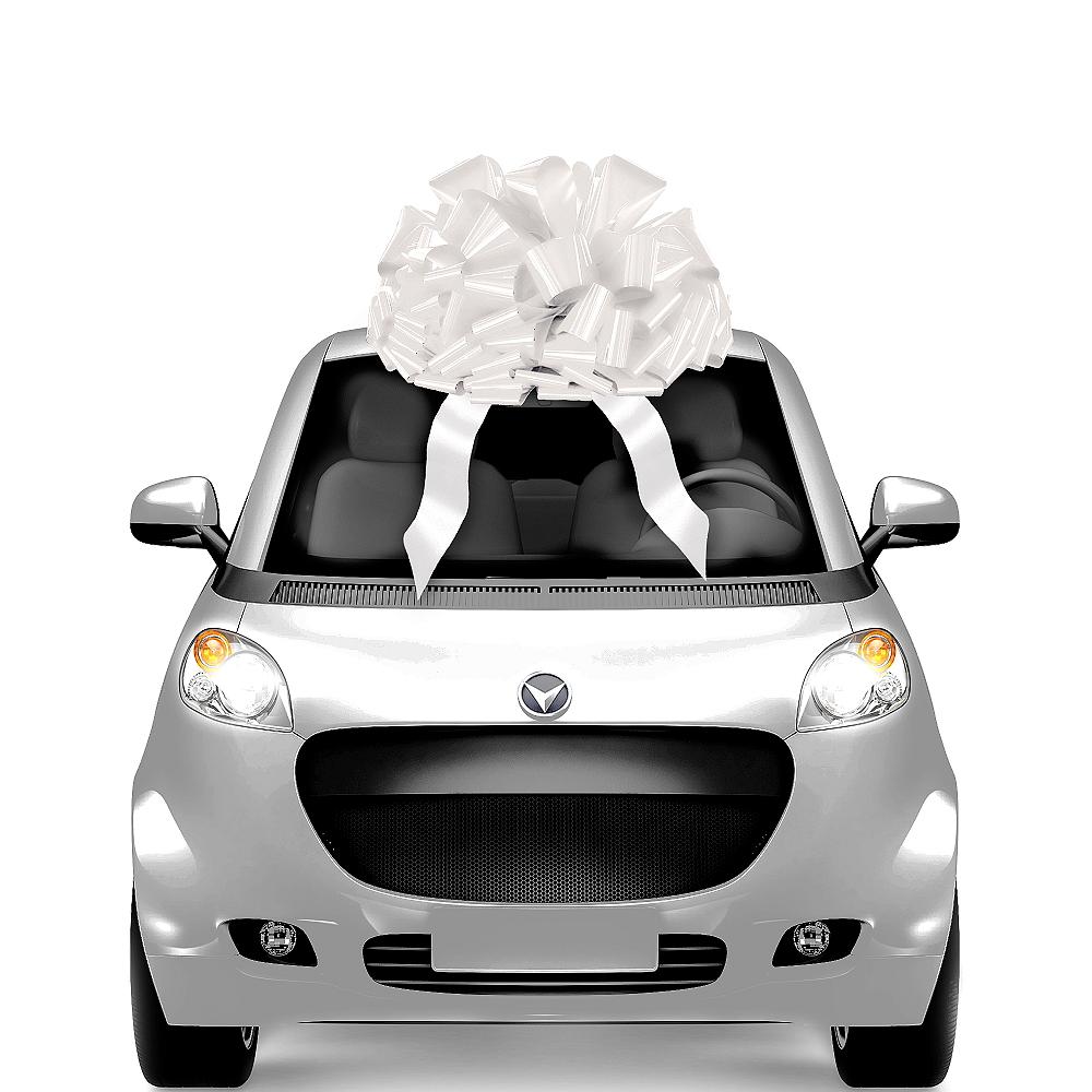 Giant White Gift Bow Image #1