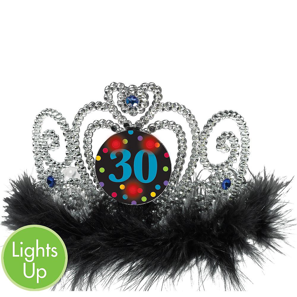 Light-Up 30th Birthday Tiara Image #1