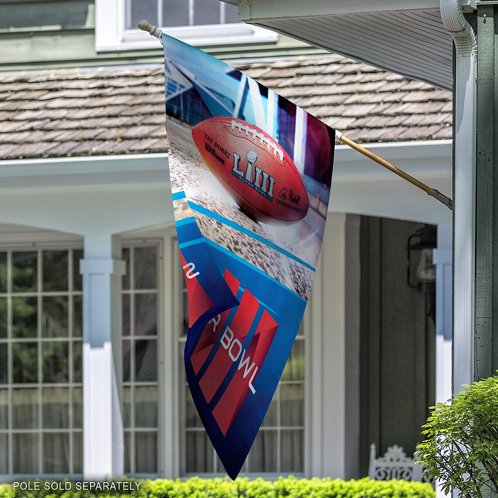 Super Bowl Banner Flag Image #2