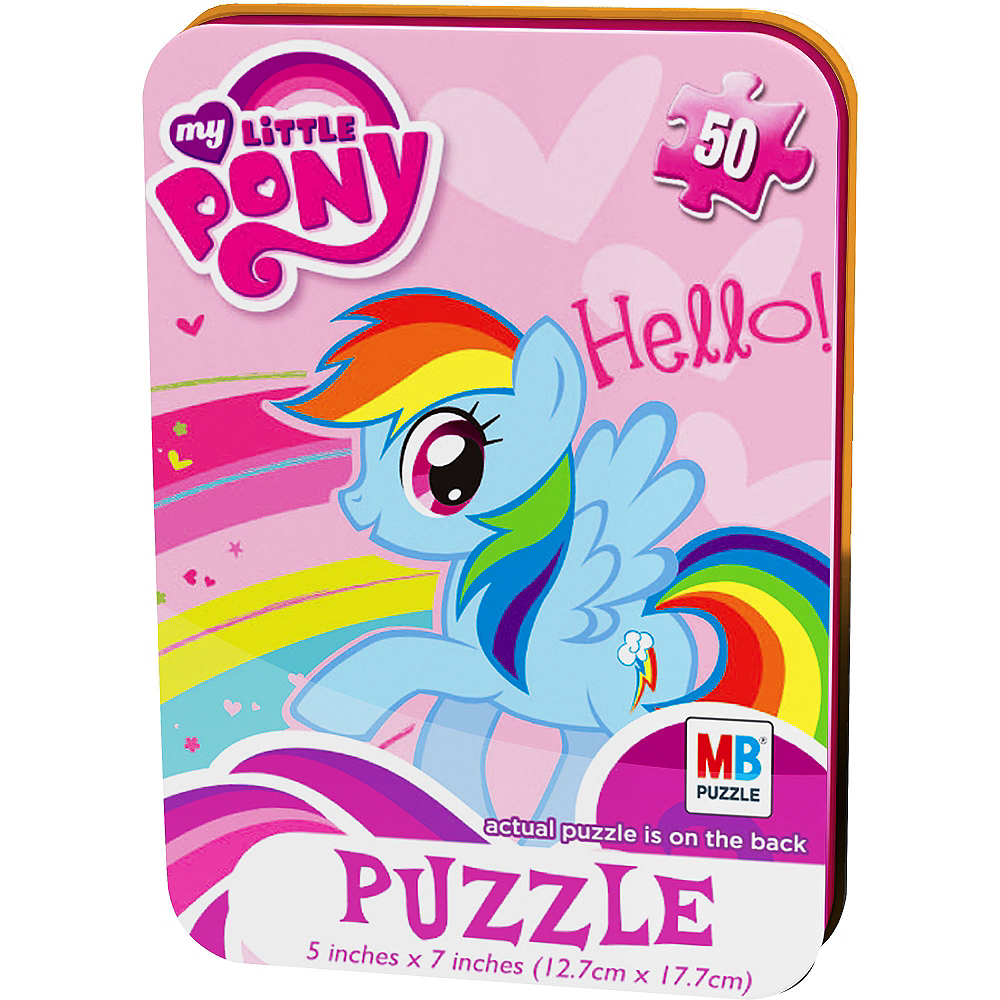 Nav Item for My Little Pony Mini Puzzle 50pc Image #1
