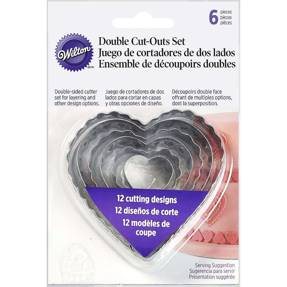 Wilton Heart Fondant & Cookie Cutters 6ct Image #2