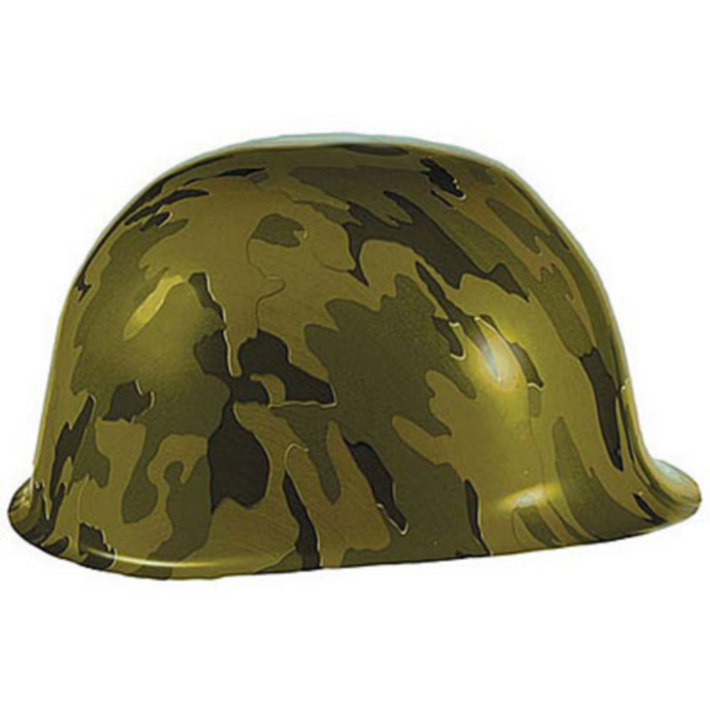 Camouflage Party Hat Image #1