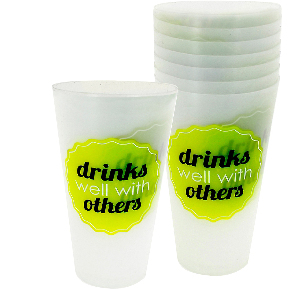 Drinks Well With Others Tumblers 12ct Image #1
