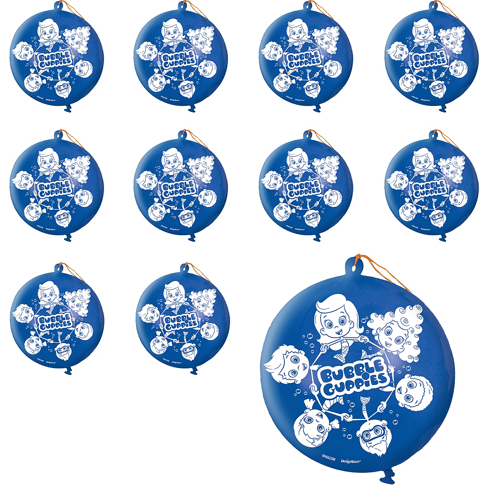 Bubble Guppies Punch Balloons 24ct Image #1
