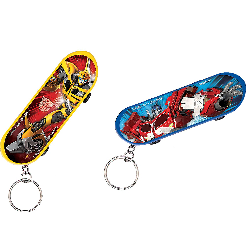 Transformers Skateboard Keychains 48ct Image #2