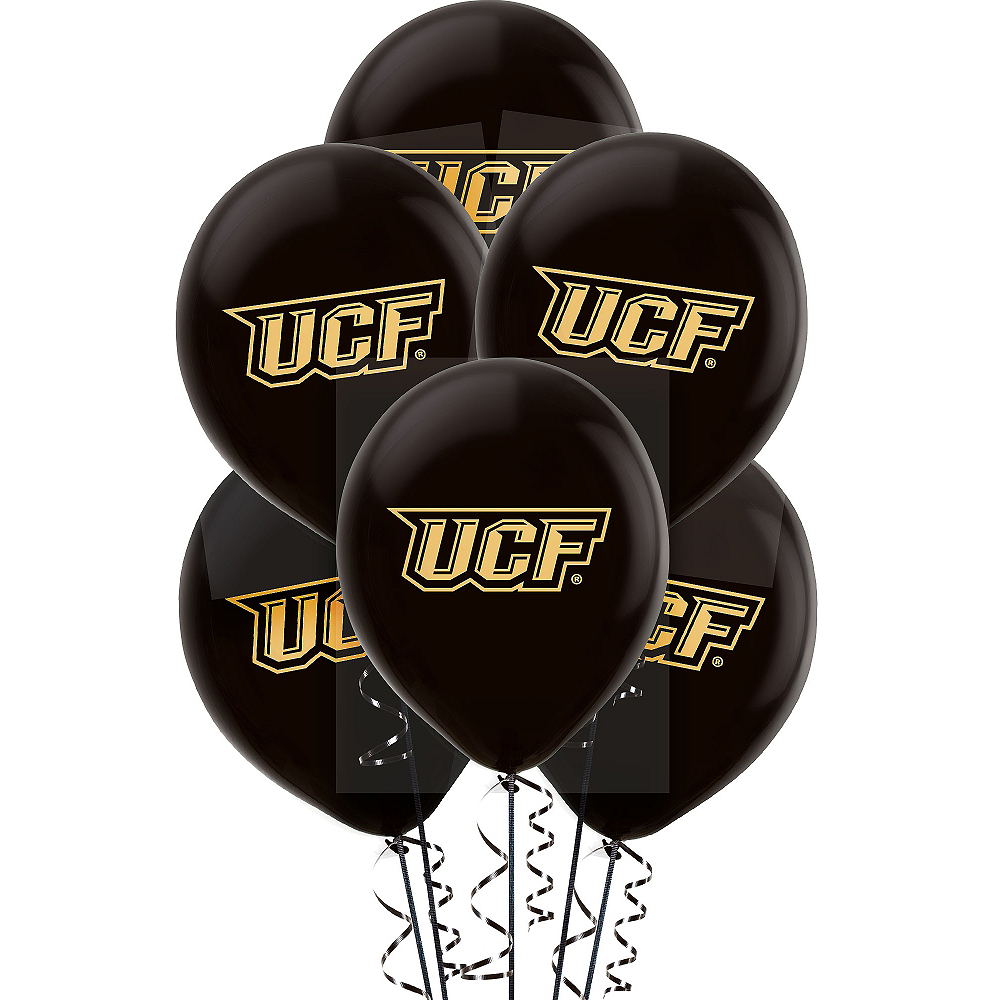 Nav Item for UCF Knights Balloons 10ct Image #1