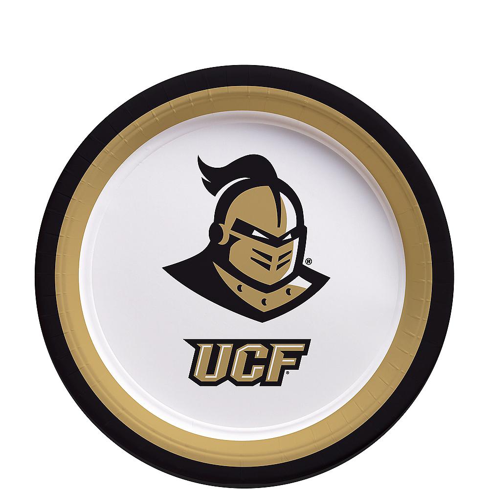 UCF Knights Dessert Plates 12ct Image #1